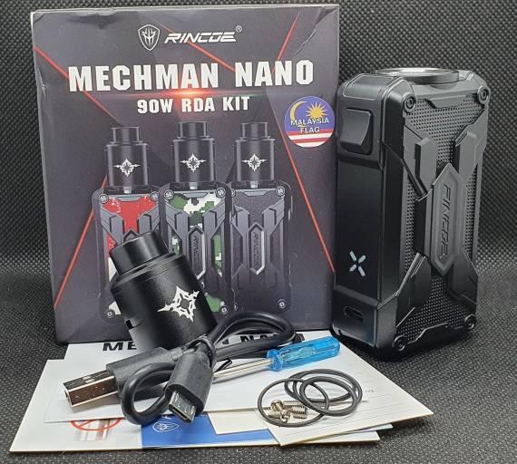 Пощупаем??? - Rincoe Mechman Nano 90W RDA Kit...