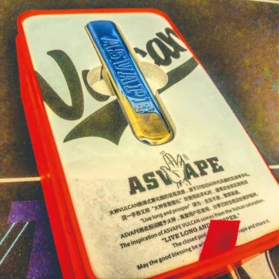 Asvape Vulcan POD System - хардкорный экземпляр с мгновенной зарядкой...
