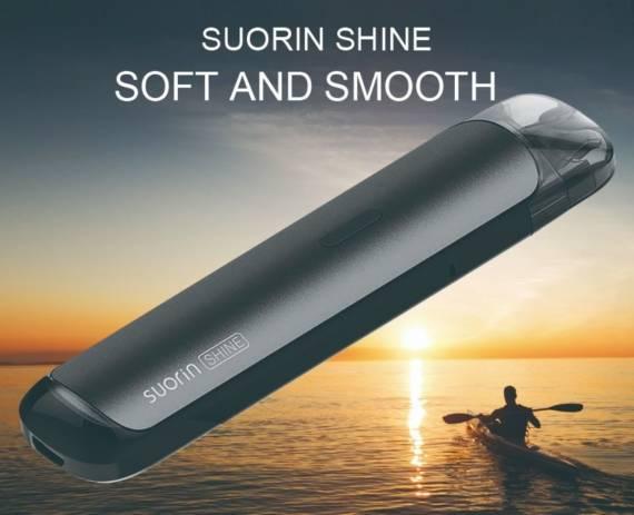 Suorin Shine POD - аккуратный внешний вид и два вида активации..