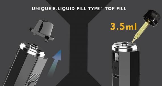 OneVape Mace80 Pod Kit - замена в ассортиментом ряду бренда...