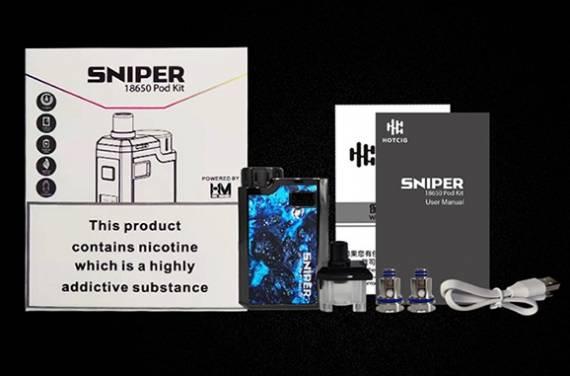 Hotcig Sniper POD kit - ну, хоть что-то новенькое...