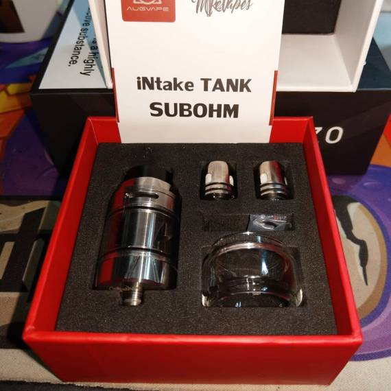 Augvape Intake Sub-Ohm Tank - непроливайка с испарителями на клэптонах...