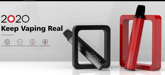 MOK Tech 2020 POD system - новогодний подик...