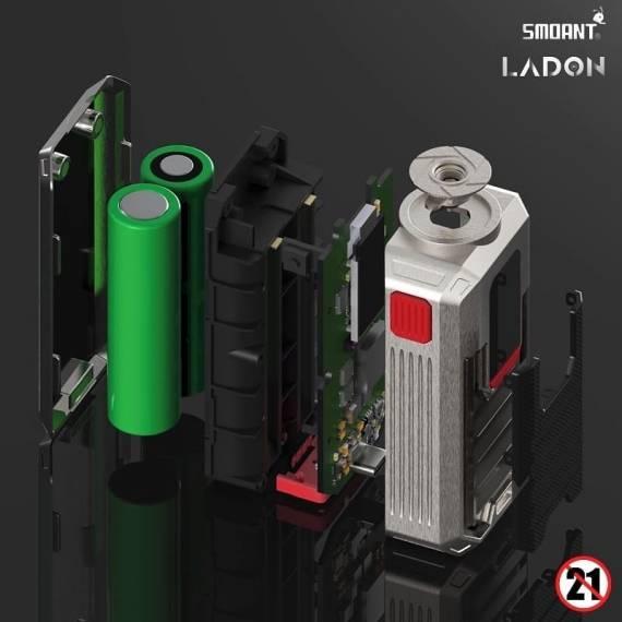 Smoant Ladon AIO 2in1 Box Kit - новый мод и танк с возможностью обслуживания...