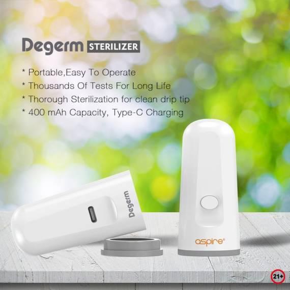 Aspire Degerm sterilizer - современные проблемы требуют современных решений...