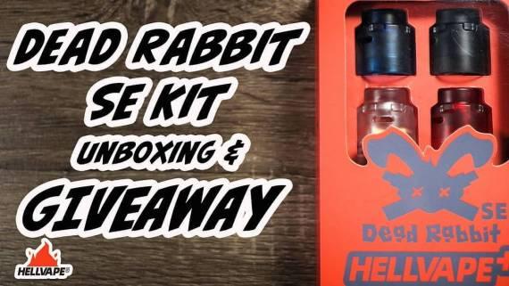 Hellvape Dead Rabbit SE RDA Kit - специальная версия для любителей кастомизации...