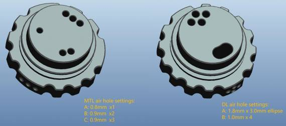 Across Vape Roulette RTA (MTL / DL) - «отягощенный наследственностью» DVARW-а…