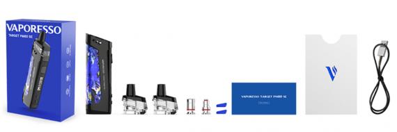 Vaporesso TARGET PM80 SE - новые испарители, обслуживаемая база и внешняя АКБ...