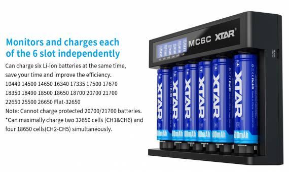 XTAR MC4S Charger и XTAR MC6C Charger - парочка автоматических ЗУ...