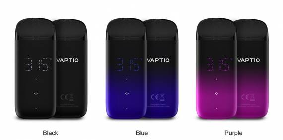 Vaptio Real POD kit - умный под с сенсорным управлением...