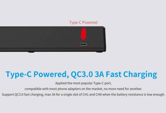 XTAR VC8 Charger - куча слотов и пара неординарных плюшек...