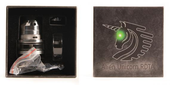 Unicorn Inc. x Mystery Vape Co. Alien RDTA - фрик из старого света…