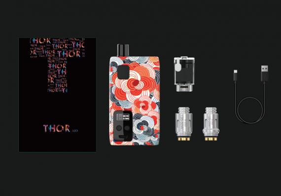 Thinkvape Thor AIO 80W POD mod - пластиковый под-мод за смешную цену...