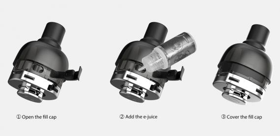 Snowwolf P40 Mini kit - округлый брусок...