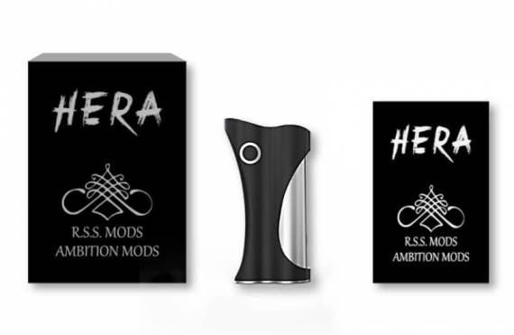 Ambition Mods x R.S.S. Mods Hera Box Mod 60W - вторая полезная коллаборация...