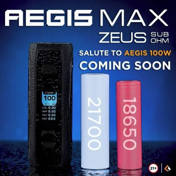 Geekvape Aegis Max - на максимуме возможностей...