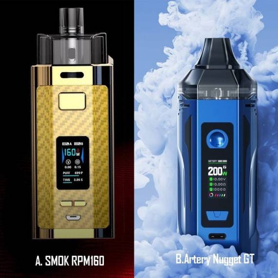 Smok RPM160 kit - еще один монстр-под...