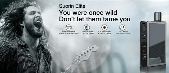 Suorin Elite POD - представили нечто посерьезнее...