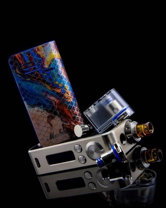 Hotcig MARVEL 40 POD Kit - honeycomb, +10Вт и новый испаритель...