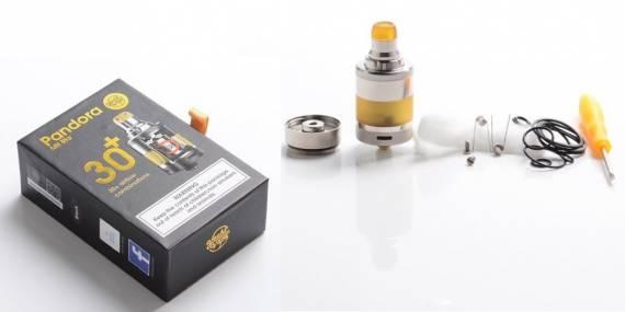 YACHTVAPE PANDORA MTL RTA - сигаретник с более чем 30-ью вариациями обдува...
