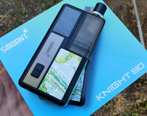 Пощупаем??? - Smoant Knight 80 POD kit...