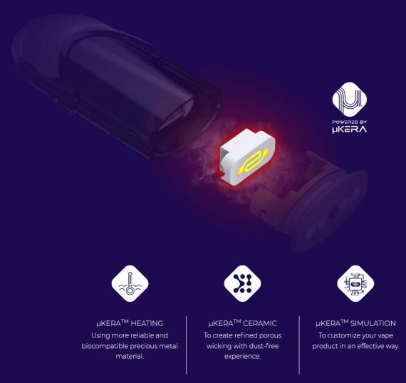 OVVIO X2 POD - под без картриджей в комплекте...