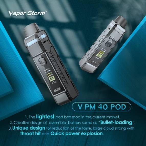 Vapor Storm V-PM 40 kit - вернулись с новинками...