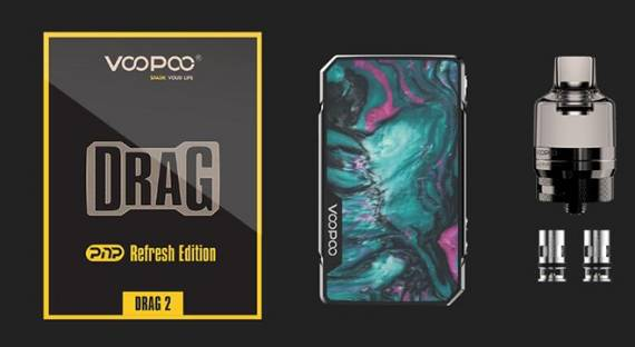 VOOPOO Drag 2 Refresh Edition & VOOPOO Drag Mini Refresh Edition kits - освежили, ничего не скажешь...