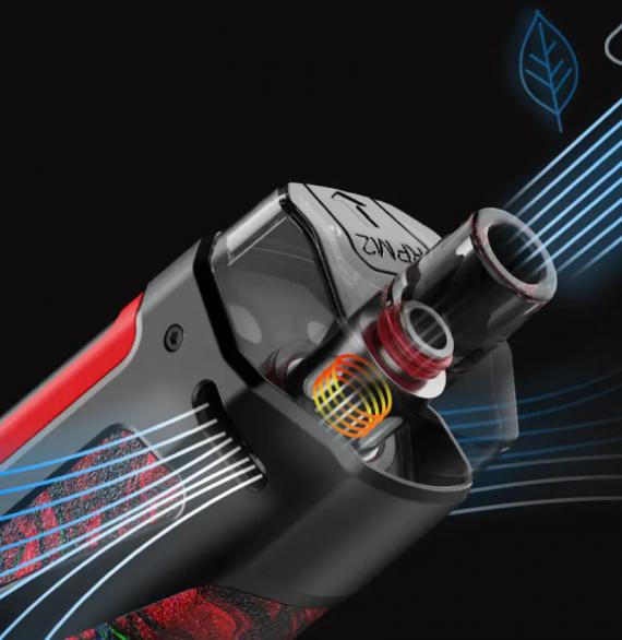 Smok SCAR-P3 - мощный под-мод на встроенной АКБ...