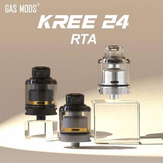 Gas Mods Kree 24 RTA - из сигаретника в односпиральные баки...
