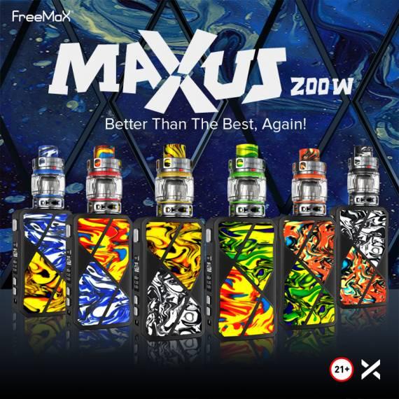 Freemax Maxus 200W Kit - я шут я арлекин, я просто смех...