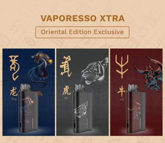 Vaporesso XTRA POD - в восточном и западном обличье...