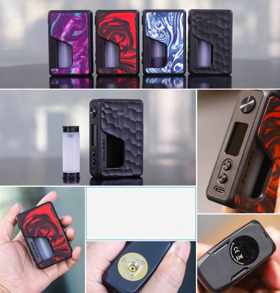 Vandy Vape PULSE V2 BF 95W BOX MOD - два вида заправки, симптичный дизайн и новый чипсет...