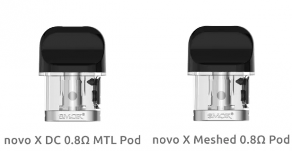 Smok novo X kit - и сюда дисплей прилепили...