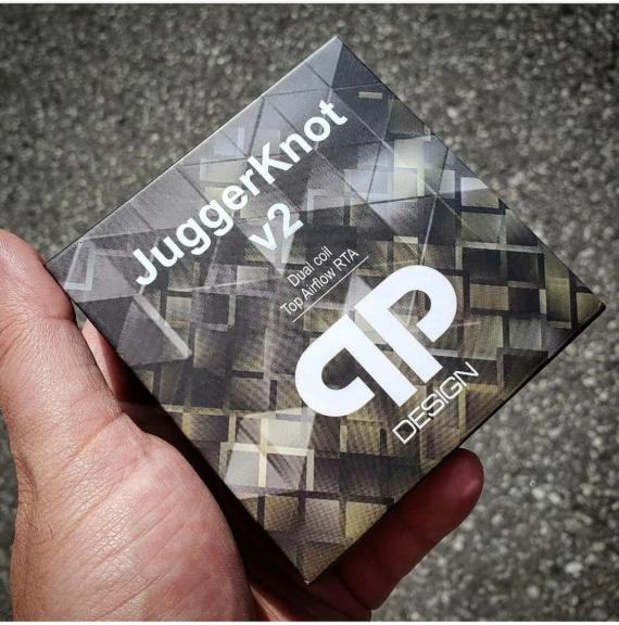 QP Design Juggerknot V2 RTA - «самый продуваемый» бак в линейке…