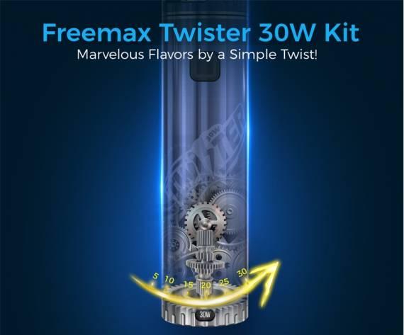 Freemax Twister 30W Kit - просто, универсально и удобно...