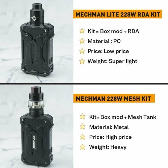 Rincoe Mechman 228W Lite kit - облегченный аналог...