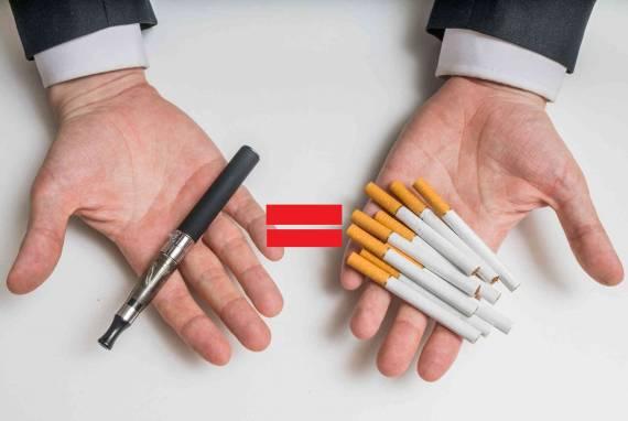 Электронные сигареты приравнены к обычным - вердикт окончательный...