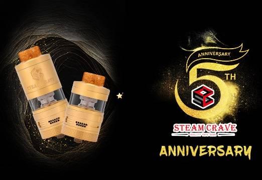 Steam Crave Aromamizer Plus V2 RDTA 5th Anniversary Edition - юбилейное издание...