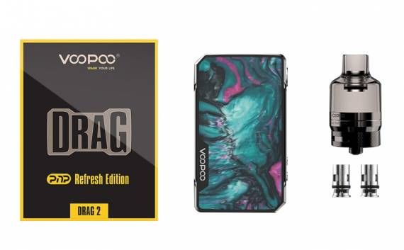VOOPOO Drag 2 Platinum Refresh Edition & VOOPOO Drag Mini Platinum Refresh Edition kits - продолжают освежать...