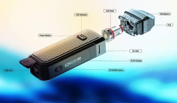 Smok Nord X kit - конвейер по производству подовв действии...