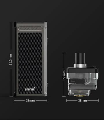 Smoant Pasito 2 Pod system kit - остепенился и прибавил по всем характеристикам...