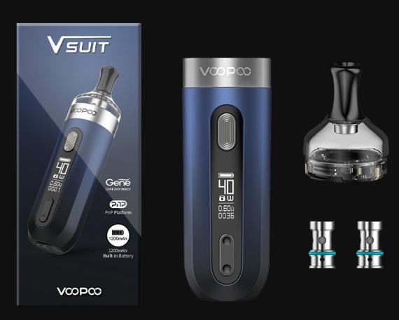 VOOPOO V.SUIT Pod kit - экстравагантный малыш...