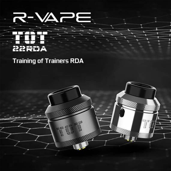 R-vape TOT 22 RDA - тренировка для тренеров...