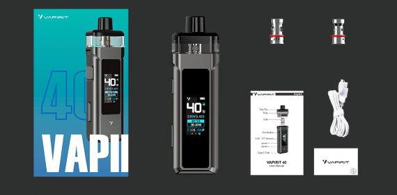 Vapirit 40 Pod mod – первое знакомство...