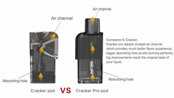VEIIK CRACKER PRO Pod - когда приставка про ровным счетом ничего не значит...