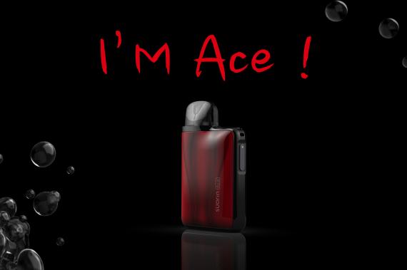Suorin ACE 15W Pod -  пузатый коробок...