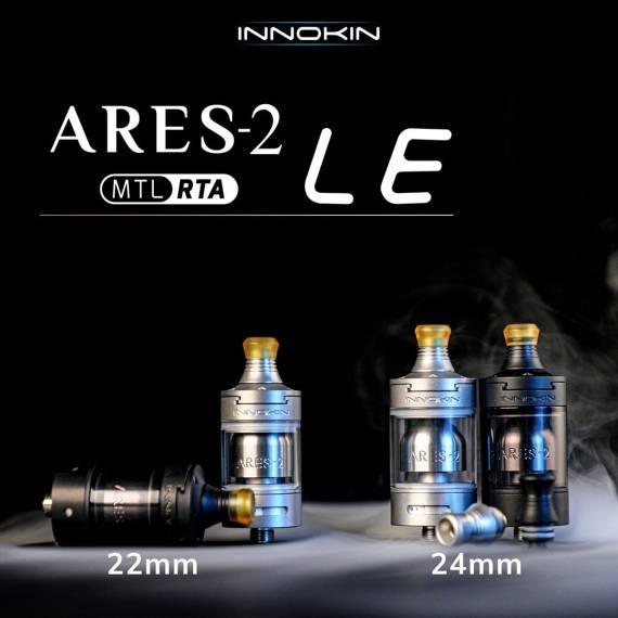 Innokin Ares 2 LE MTL RTA - причесали и в путь...