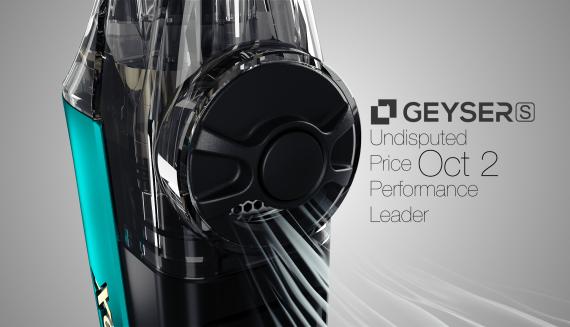 Vapx Geyser S POD System - более утонченный, но не менее амбициозный...