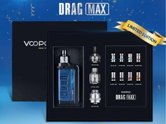 Новые старые предложения - Voopoo DRAG MAX и OXVA Origin X kit...